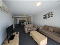 2 Bedroom Apartment Living Area - Mantra Aqua